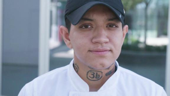 LGBT homeless youth are over-represented in cities across the US, but 25-year-old Gabriel Rondon is finding a way out of that statistic by learning to cook.