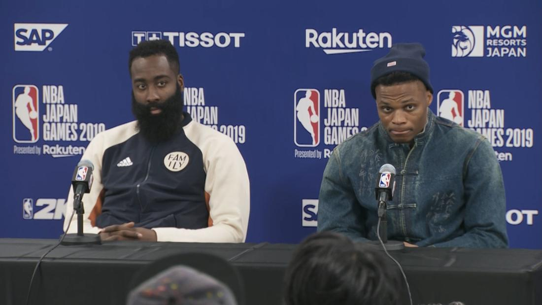 LeBron James weighs in on the NBA-China dispute