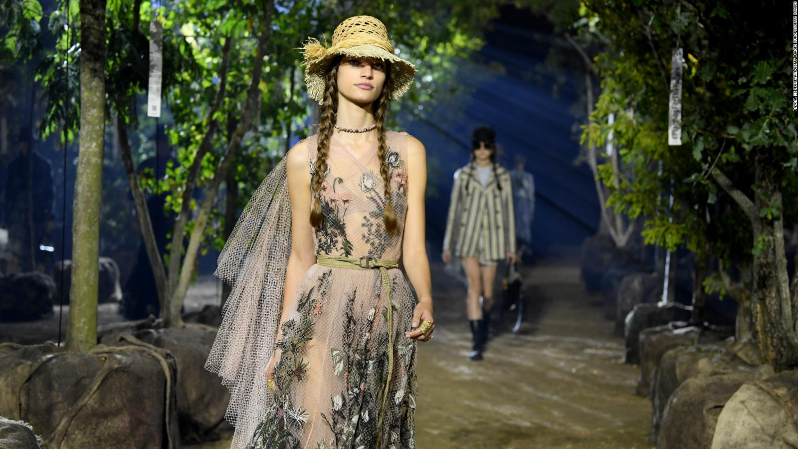 The Problem With Sustainable Fashion Cnn Style