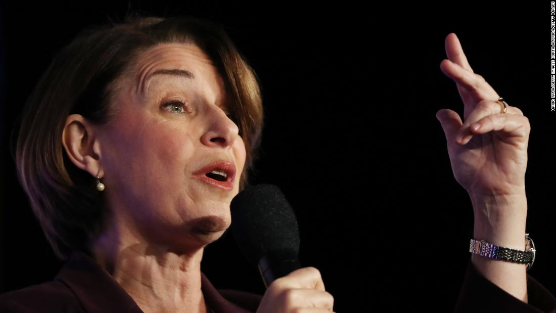Klobuchar: I'll be in DC, not Iowa, for impeachment trial