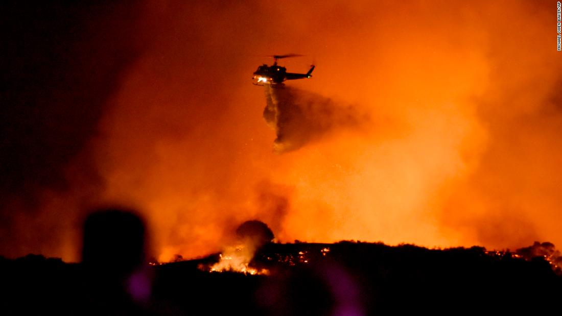 Firefighters make headway against the biggest of California's active wildfires