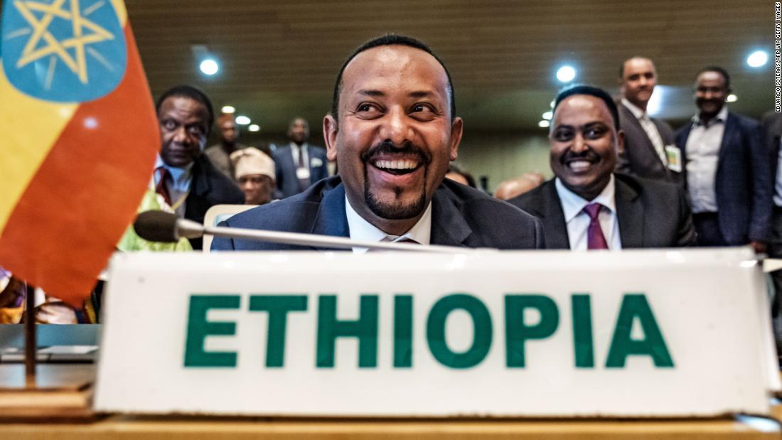 和平のエチオピアの首相勝2019賞