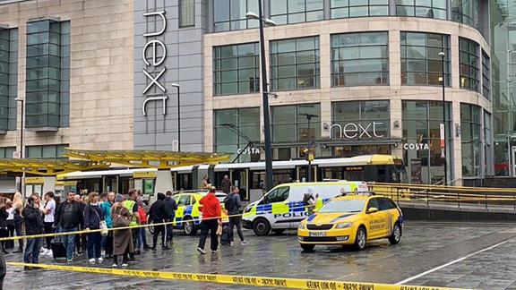 Emergency services at Arndale Shopping Centre.