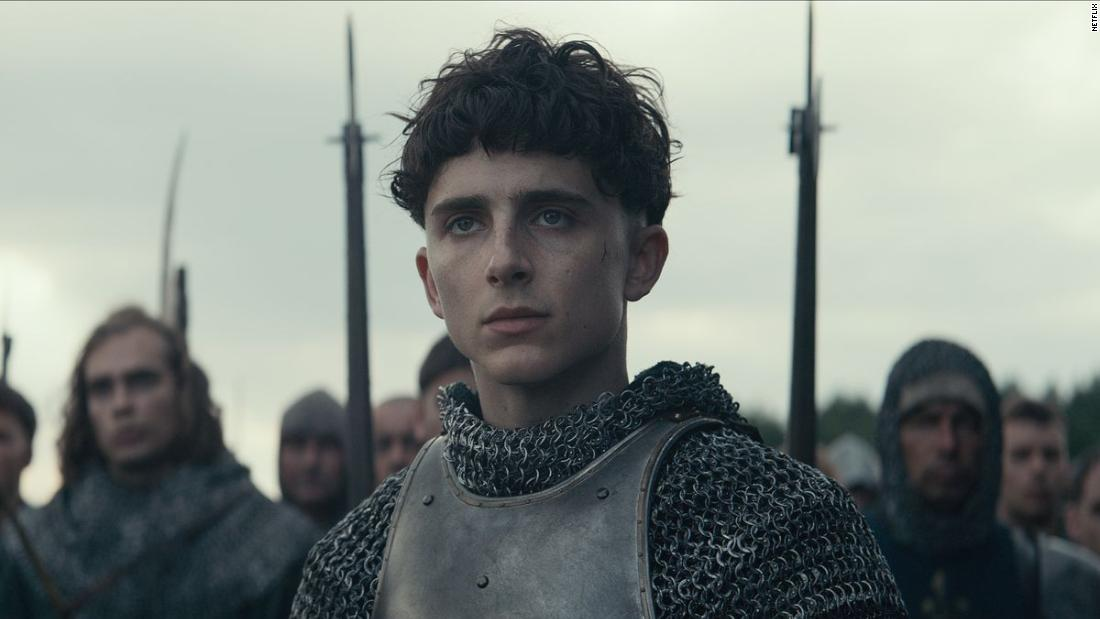 Timothée Chalamet is causing quite the stir as 'The King'