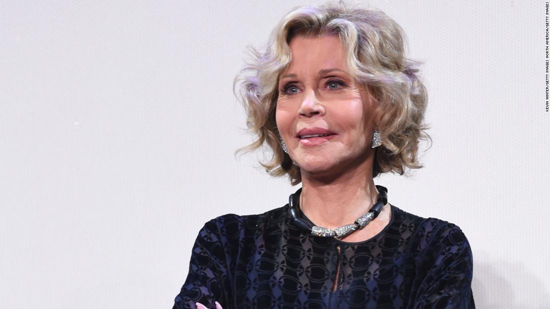 Jane Fonda taken into custody at climate crisis protest in Washington