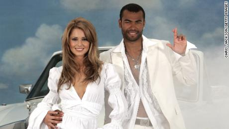 Cheryl Tweedy of Girls Aloud and footballer Ashley Cole, in a 2006 photoshoot that went down in WAG lore.