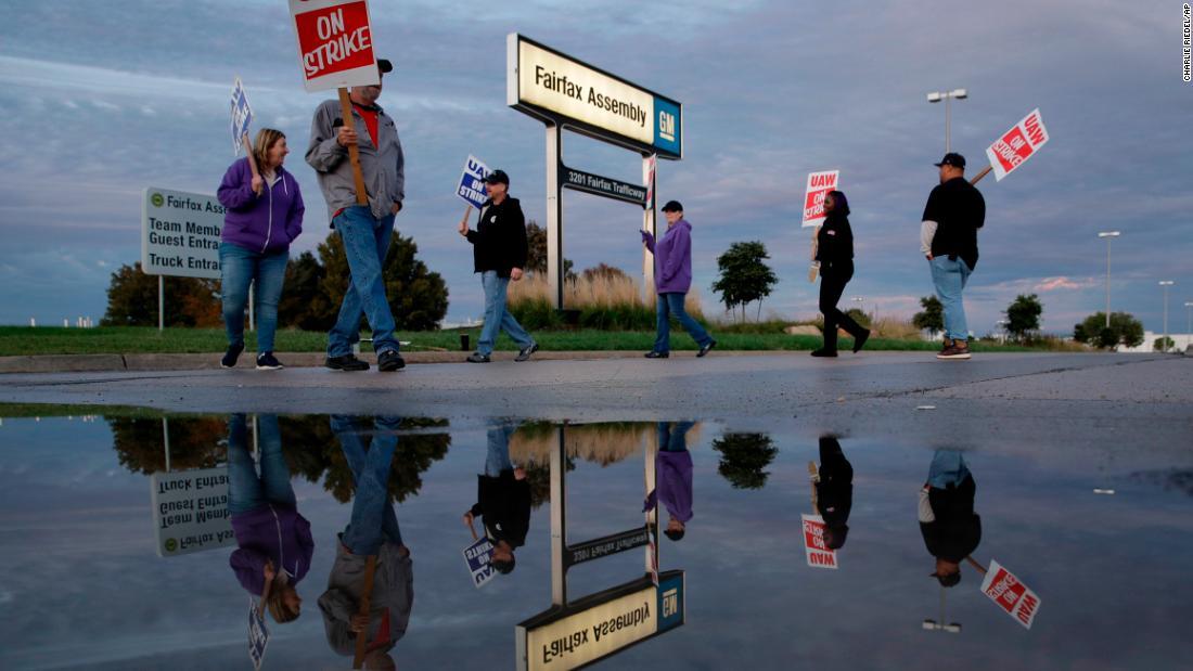 UAW ups απεργία οφέλη για τη GM εργαζομένων