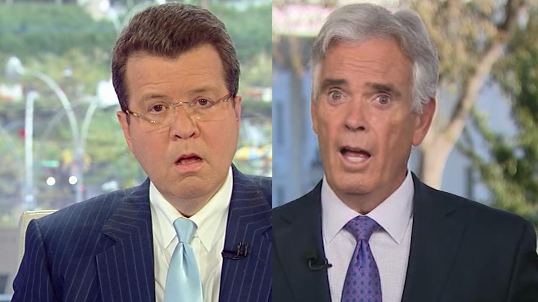 Melihat reaksi terkejut live di Fox setelah Smith tetes bom