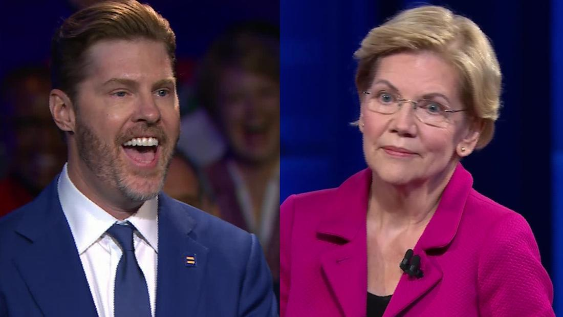 Hear Warren's zinger for opponents of marriage equality