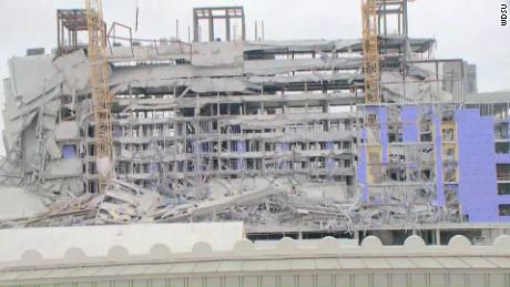 The construction site Hard Rock Hotel in New Orleans.