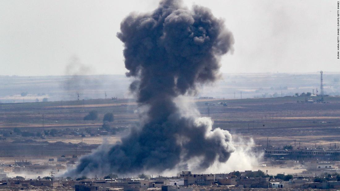Pihak berwenang kurdi klaim Turki ofensif telah menyebabkan tahanan ISIS melarikan diri