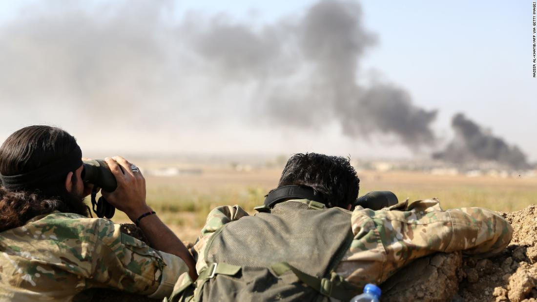 Turki klaim pertama kota sebagai serangan ke Suriah utara mengintensifkan