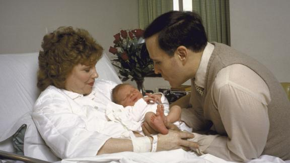 Giuliani and his second wife, Donna, hold their newborn son Andrew in 1986. At the time, Giuliani was US attorney for the Southern District of New York. Before that, he was associate attorney general of the United States. That's the third-highest position in the Department of Justice.