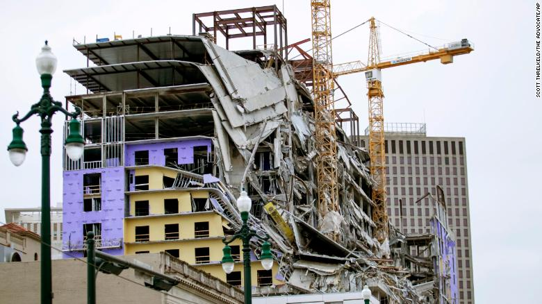 Hard Rock Hotel Collapse New Orleans