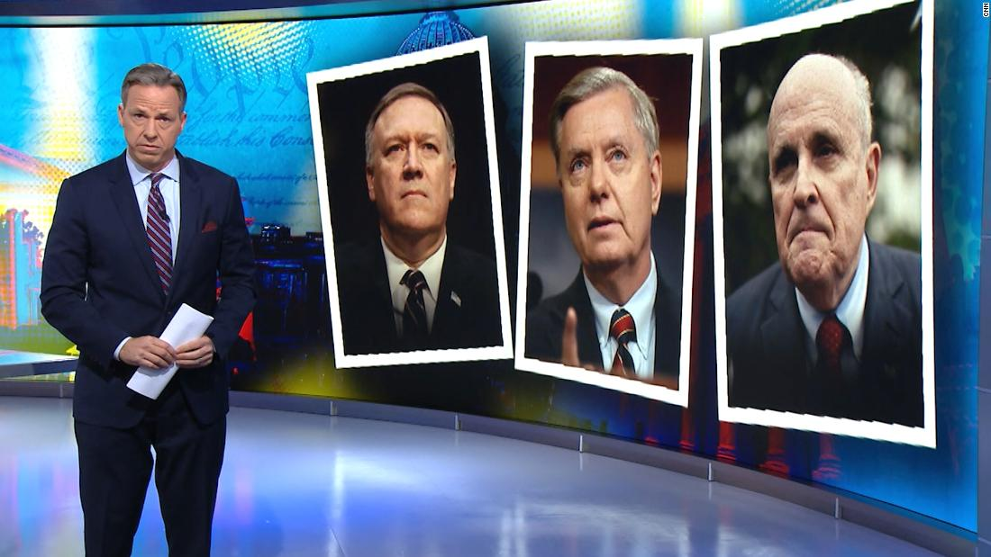 Tapper συγκρίνει Ρεπουμπλικάνοι μεταβαλλόμενες απόψεις σχετικά με την εποπτεία