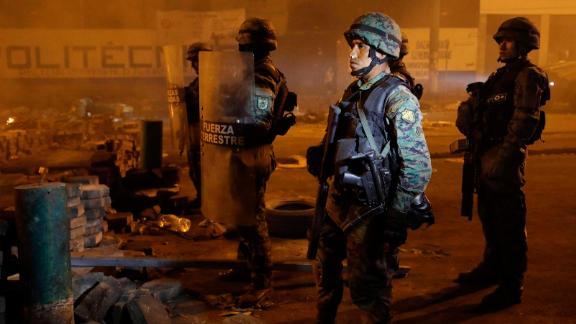 Ten days of clashes have followed President Lenín Moreno