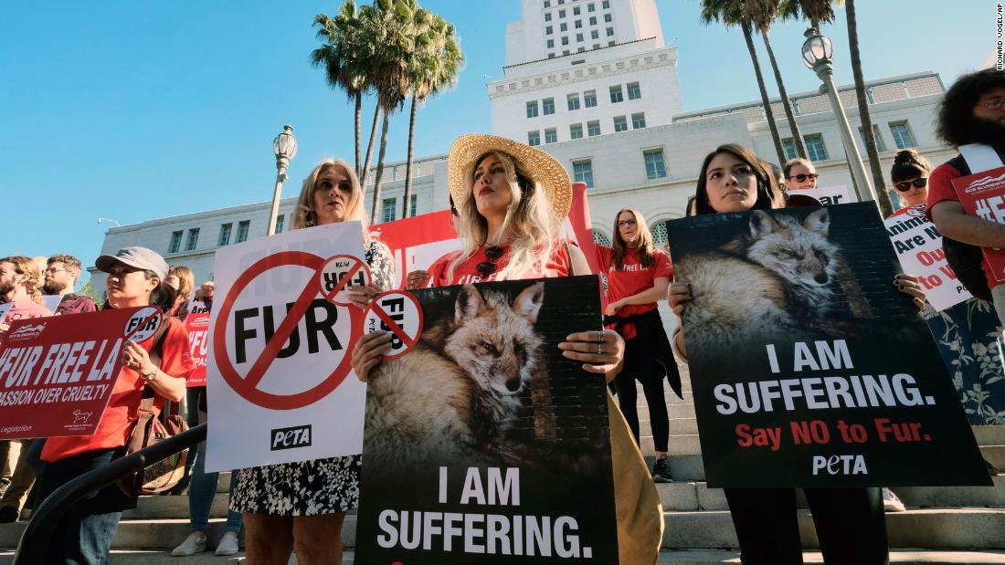 California becomes the first state to ban fur products
