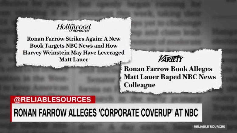 Nbc Denies Farrow S Allegation Of A Corporate Coverup