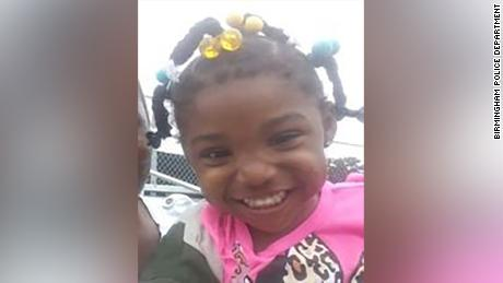 A person of interest is in custody and being questioned in the kidnapping of a three-year-old girl from a birthday party in Birmingham, Alabama, according to Birmingham Police Sergeant Rodarius Mauldin.
