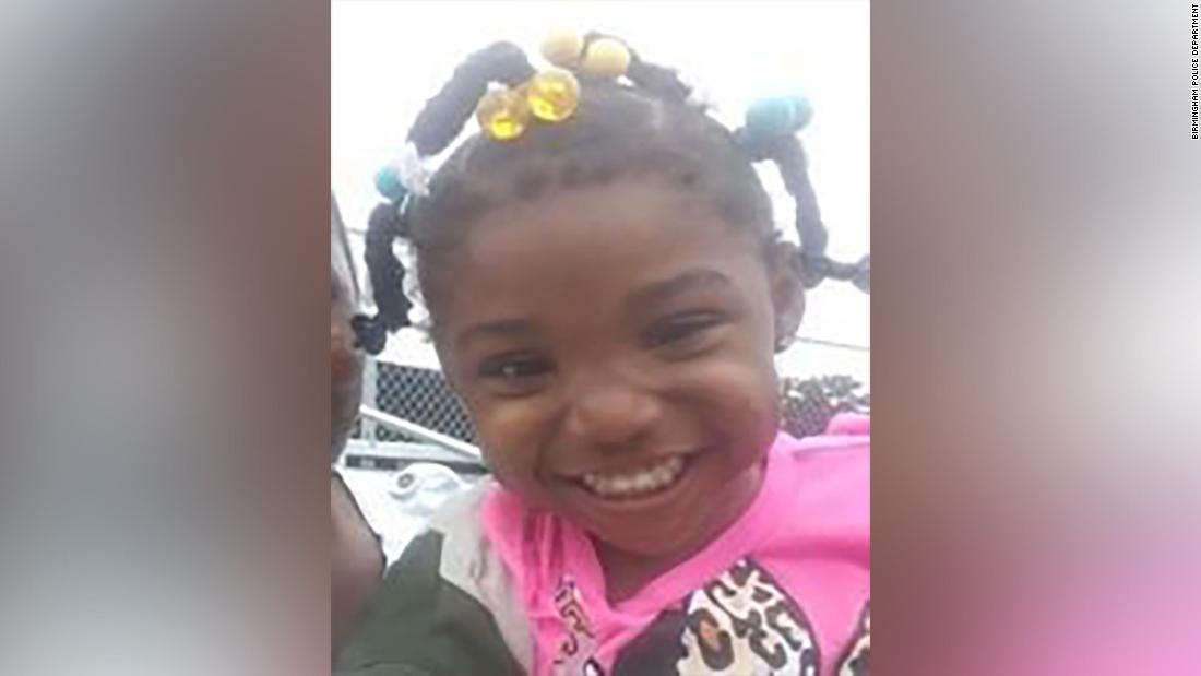 Alabama police believe they found the remains of 3-year-old Kamille 'Cupcake' McKinney