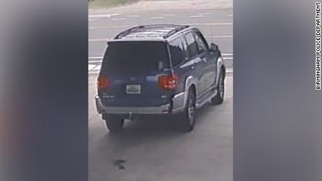 Witnesses said the girl was taken in a dark SUV.