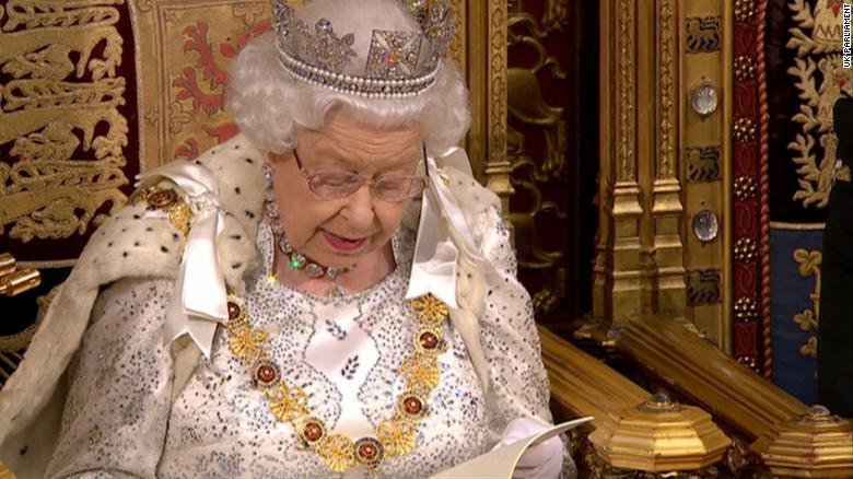 The Queen just read out Boris Johnson's stump speech