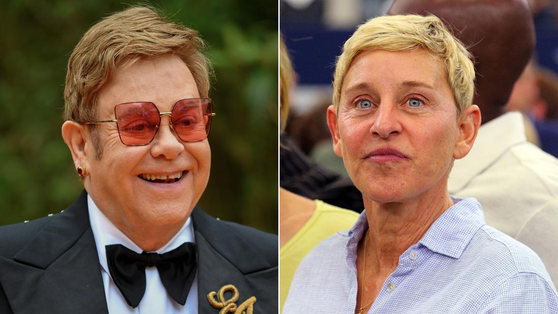 Elton John defends Ellen DeGeneres' friendship with George W. Bush - CNN