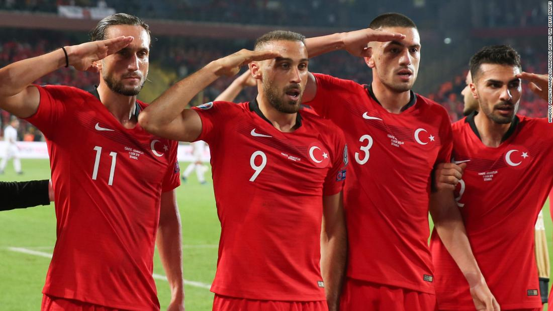 'Soldiers of an enemy army': French politicians call for football match against Turkey to be canceled