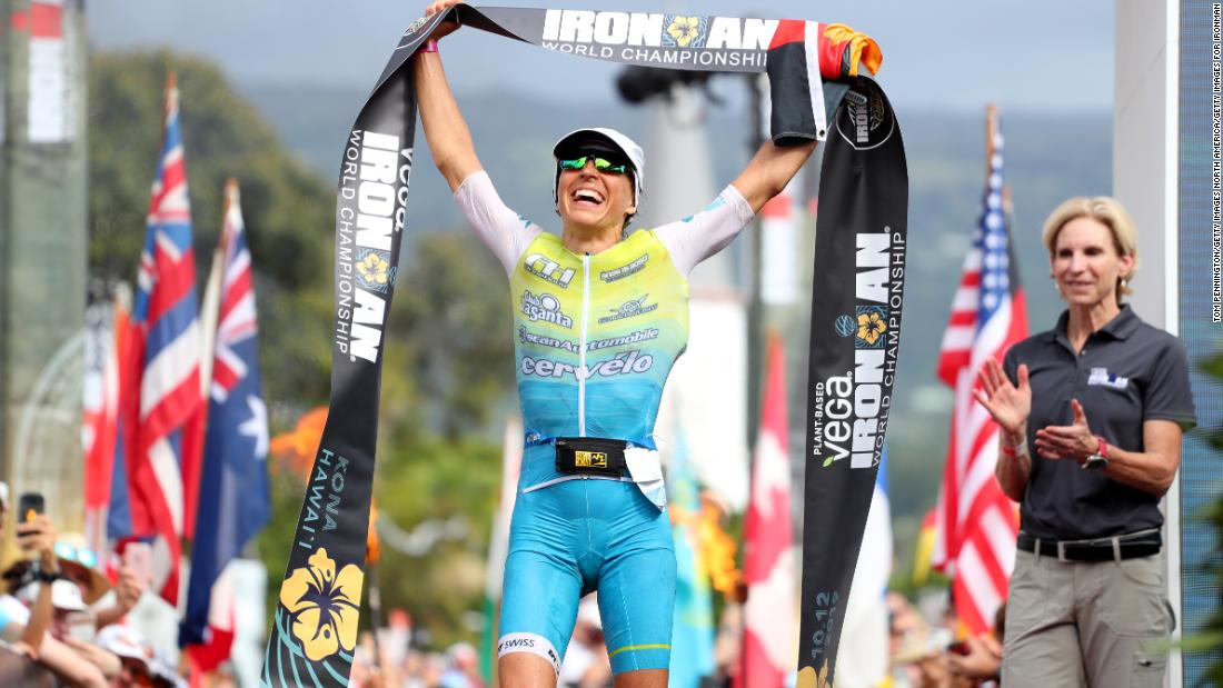 Double delight for Germany at the Ironman World Championships