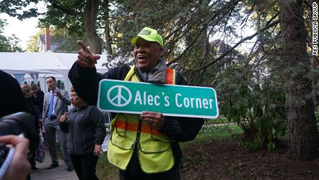 """I receive something on that corner that you can't buy,""  Alec Childress said."