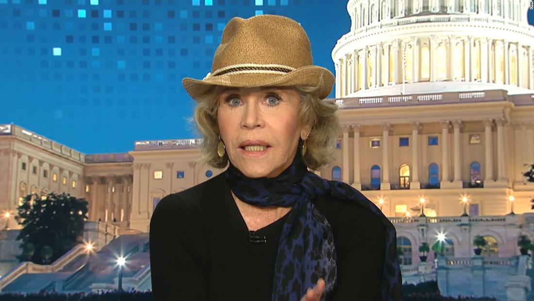Why Jane Fonda vows to get arrested every Friday