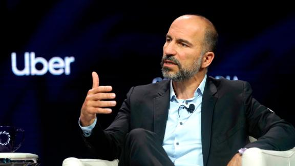 NEW YORK, NEW YORK - SEPTEMBER 24: Dara Khosrowshahi, CEO, UBER, speaks onstage during the 2019 Concordia Annual Summit - Day 2 at Grand Hyatt New York on September 24, 2019 in New York City. (Photo by Riccardo Savi/Getty Images for Concordia Summit)