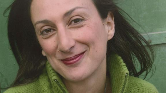 Caruana Galizia was killed by a car bomb on October 16, 2017.