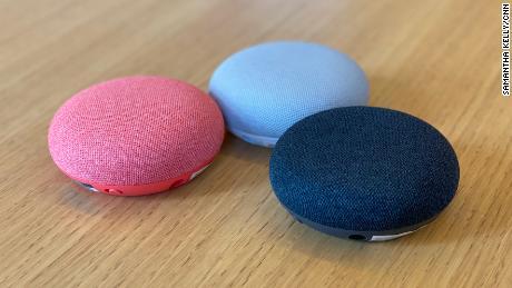 The Nest Mini speakers