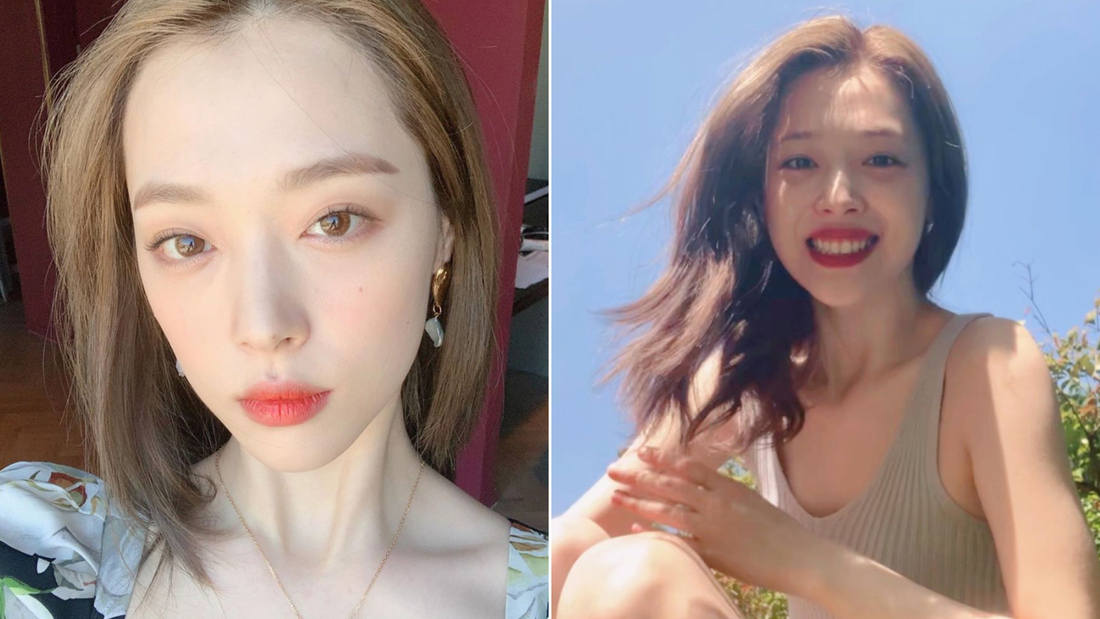 Pictures of Sulli posted on her Instagram.