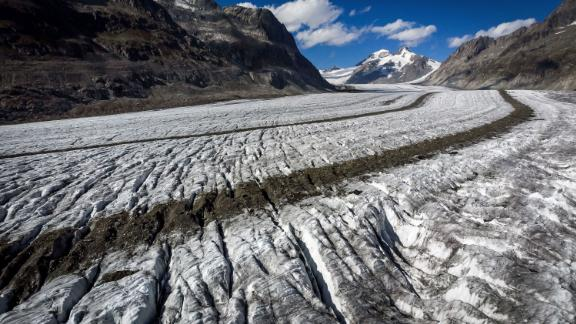 Switzerland is losing its glaciers as temperatures rise.