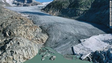 Switzerland has lost more than 500 glaciers since 1900.