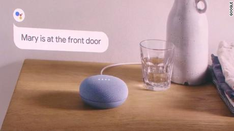 Google also unveiled the new Nest Mini, a powerful hockey-puck-sized device that looks nearly identical to last year's model.