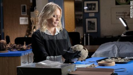 Dr. Erin Kimmerle, a forensic anthropologist, was invited by National Geographic to identify the found remains
