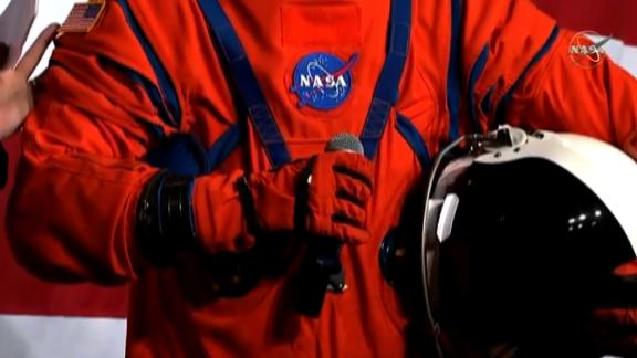 The orange Orion suit will provide thermal protection.