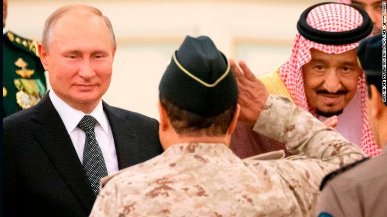 Russia takes stronghold in Middle East as US steps back