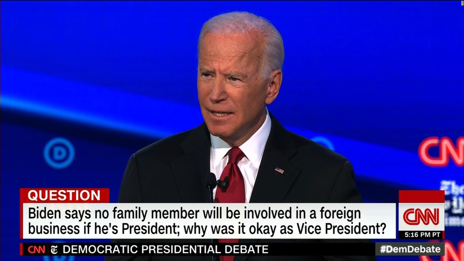 Joe Biden Says His Children Are Not Going To Have Offices In The White House If He S Elected Cnnpolitics