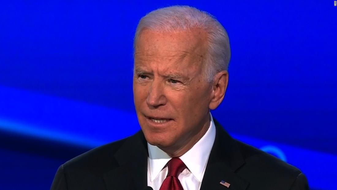 Biden: My son did nothing wrong. I did nothing wrong