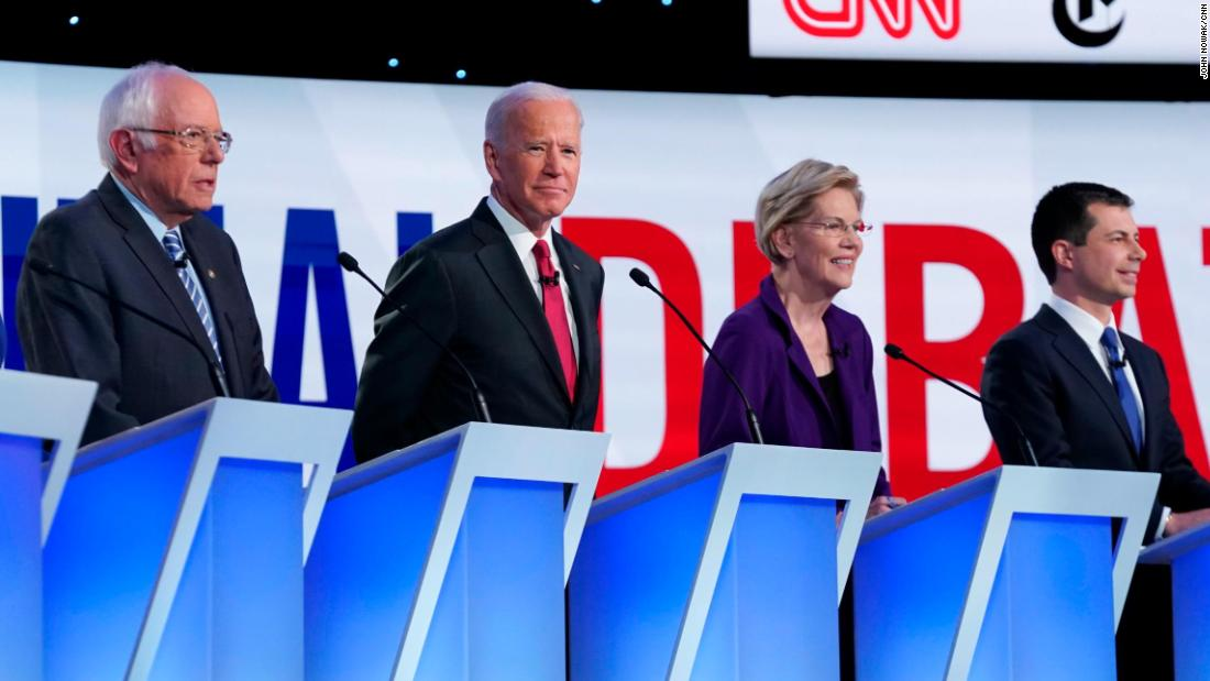 Chris Cillizza's winners and losers from the fourth Democratic debate