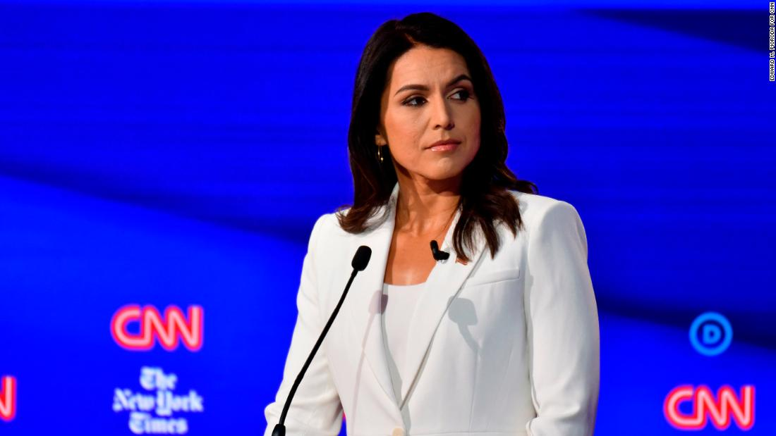 Hillary Clinton appears to suggest Russians are 'grooming' Tulsi Gabbard for third-party run thumbnail