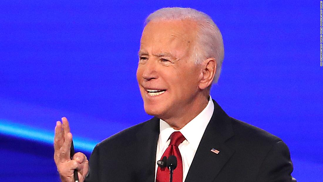 CNN Poll: Biden's lead in Democratic primary hits widest margin since April