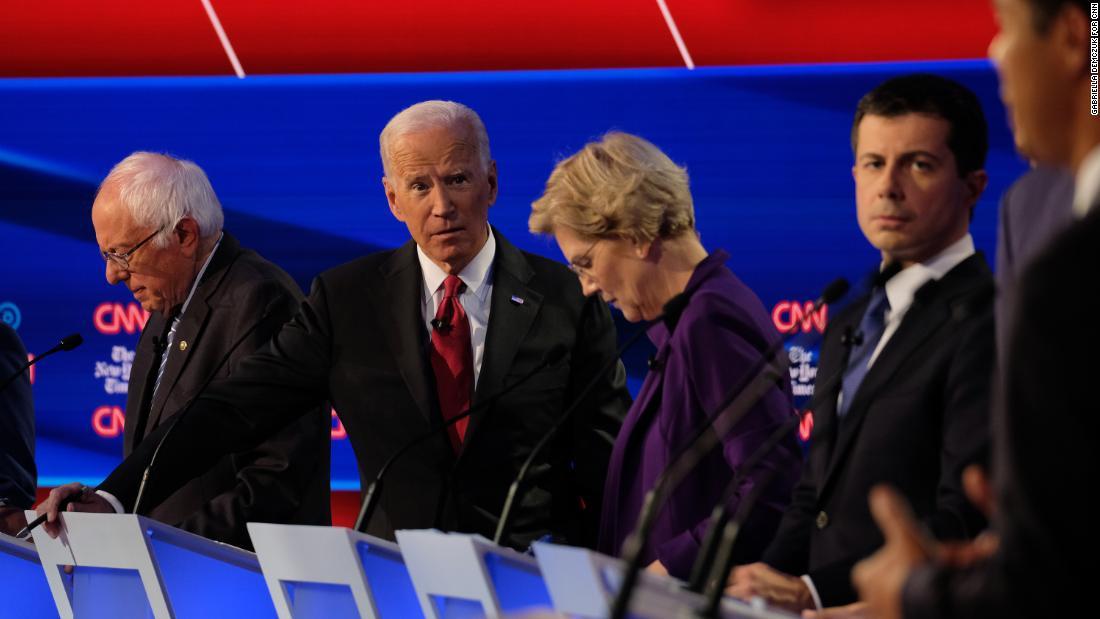 Part 3 of the CNN/NYT Democratic Presidential Debate