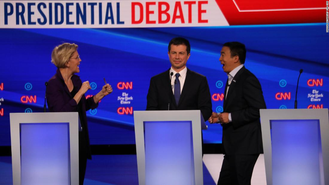 7 takeaways from the CNN/New York Times Democratic presidential debate thumbnail