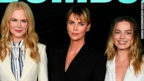 Ellen Tried To Get Nicole Kidman To Pick Men For Charlize Theron And Things Got Awkward Cnn