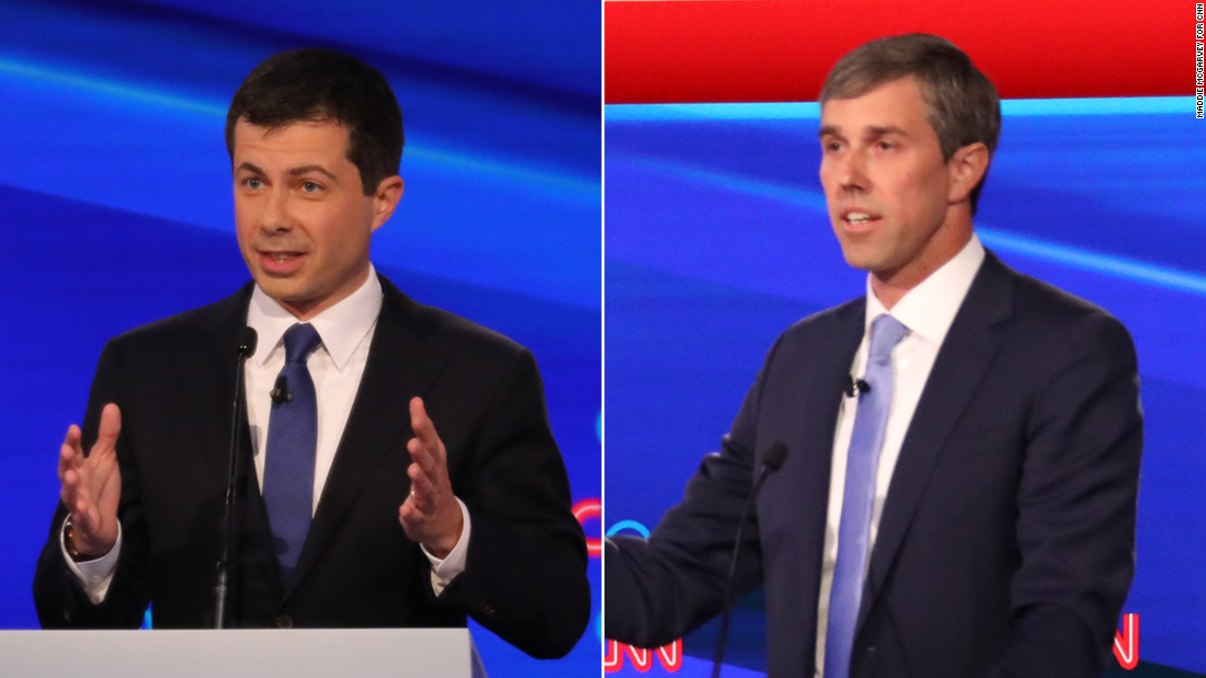 Pete Buttigieg to Beto O'Rourke: I don't need lessons from you on courage